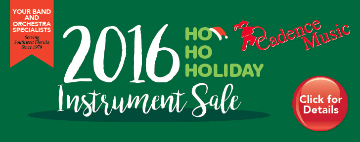 2016 Holiday Instrument Sale