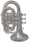PT711S Bb Pocket Trumpet (silver plated) . Prelude