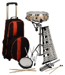 LE2483R Rolling Percussion Combo Kit . Ludwig
