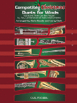 Compatible Christmas Duets for Winds . Alto Saxophone/Baritone Saxophone . Various
