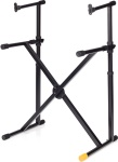 Hercules KS210B EZ-LOK Double Tier X Keyboard Stand