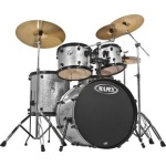 "Mapex USA VR5295 Voyager 5-Piece ""SRO Fully Loaded"" Drum Set (silver sparkle) . Mapex"