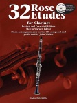 Etudes (32) w/CD . Clarinet . Rose