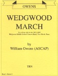 Wedgwood March . Concert Band . Owens