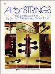 All For Strings Theory Workbook v.2 . Violin . Anderson