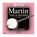 V700 Vega Banjo Strings (5-string, nickel wound) . Martin