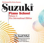 Piano School v.4 (cd only) . Piano . Suzuki