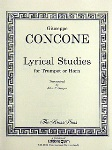 Lyrical Studies . Trumpet or Horn . Concone