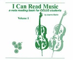 i Can Read Music v.1 . Cello . Martin