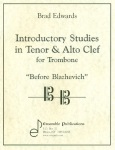 Introductory Studies in Tenor & Alto Clef . Trombone . Edwards