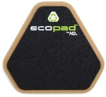 "HQ Percussion ECO12D 12""2 Sided ECO Practice Pad . HQ"