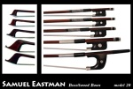 BB20BF Double Bass Bow (3/4, french, brazilwood) . Eastman