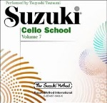 Cello School (cd only) v.7 . Cello . Suzuki