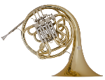 "11D ""Symphony"" Double French Horn Outfit . Conn"