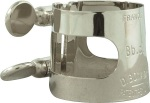 2254U Alto Saxophone Ligature (inverted,nickel) . Bonade