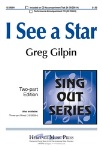 I See A Star (2-part) . Choir . Gilpin