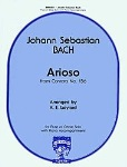 Arioso (from cantata no.156) . Flute or Oboe and Piano . Bach