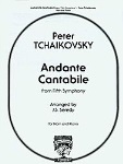 Andante Cantabile (from 5th symphony) . Horn and Piano . Tchaikovsky