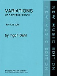 Variations on A Swedish Folktune . Flute . Dahl