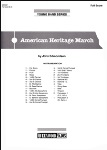 American Heritage March (score only) . Concert Band . Edmondson