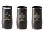 F34021AU ICON Series Clarinet Barrel (gold-plated rings, 65mm) . Buffet