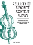 Cellists Favorite Contest Album w/CD . Cello and Piano . Various