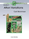 Afton Variations (score only) . Concert Band . Strommen