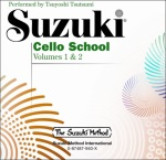 Cello School (cd only) v.1 and 2 . Cello . Suzuki