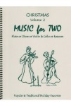Music for Two v.2 Christmas . Flute or Oboe or Violin and Cello or Bassoon . Various