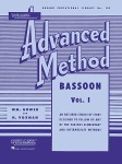 Rubank Advanced Method v.1 . Bassoon . Voxman/Gower