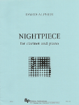 Nightpiece . Clarinet and Piano . Alpher