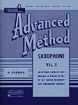 Rubank Advanced Method v.2 . Saxophone . Voxman/Gower