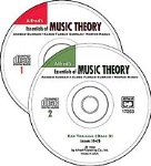 Essentials of Music Theory Ear Training CDs (books 1-3) . Music Theory . Various