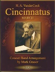 Cincinnatus . Concert Band . VanderCook