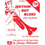 Nothin' But Blues v.2 w/CD . Any Instrument . Aebersold