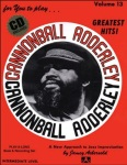Aebersold Vol. 13  Cannonball Adderley