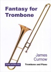 Fantasy for Trombone . Trombone and Piano . Curnow