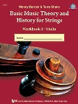 Basic Music Theory and History for Strings v1 . String Bass . Various