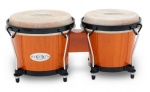 Toca Percussion 2100AMB Synergy Wood Bongos (amber finish) . Toca