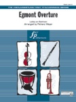 Egmont Overture (score only) . Full Orchestra . Beethoven