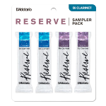 DRS-C25 Reserve Clarinet Sampler Pack (2.5 and 3, filed) . D'Addario