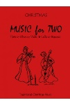 Christmas Music for Two v.1 . Flute/Oboe/Violin and Cello/Bassoon . Various