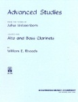 Advanced Studies from the Works of Julius Weissenborn . Bass Clarinet . Rhoads