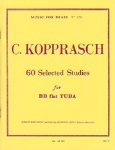Selected Studies (60)  v.1 . Tuba . Kopprasch