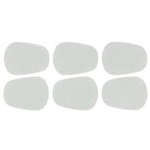 American Way Mk A12L Mouthpiece Cushions (clear, large .9mm, 6 pack) . BG