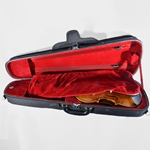 CA1302D Eastman Dart Shaped 1/4 Violin Case