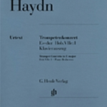 Concerto in Eb Major . Trumpet and Piano . Haydn