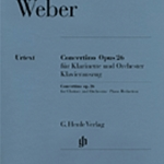 Concertino Op.26 . Clarinet and Piano . Weber