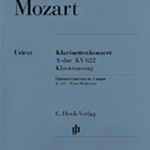 Concerto in A Major k.622 . Clarinet and Piano . Mozart