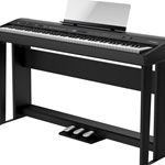 FP-90-BKC Digital Piano w/Stand and Pedal Board . Roland